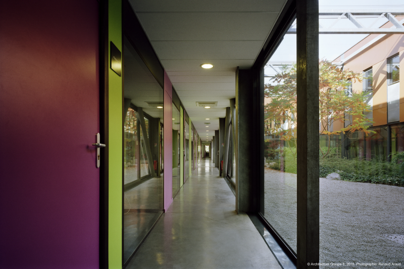 Biopolis couloir